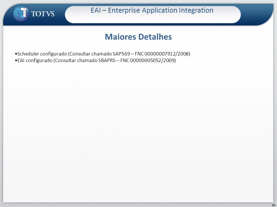 EAI – Enterprise Application Integration