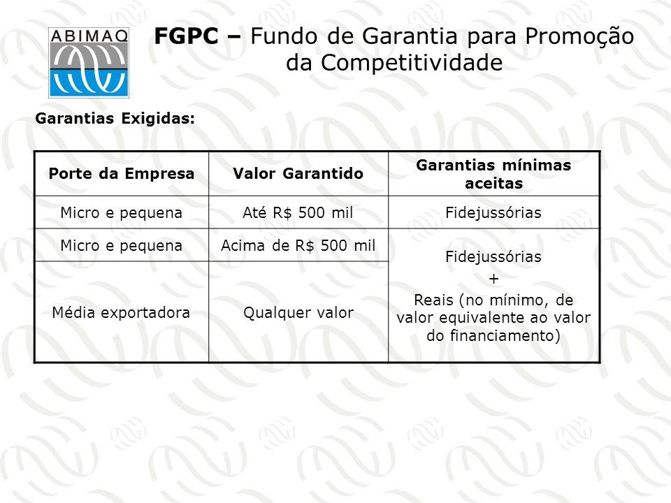 FGPC – Fundo de Garantia para Promoção da Competitividade