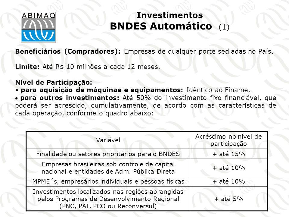 Investimentos BNDES Automático (1)