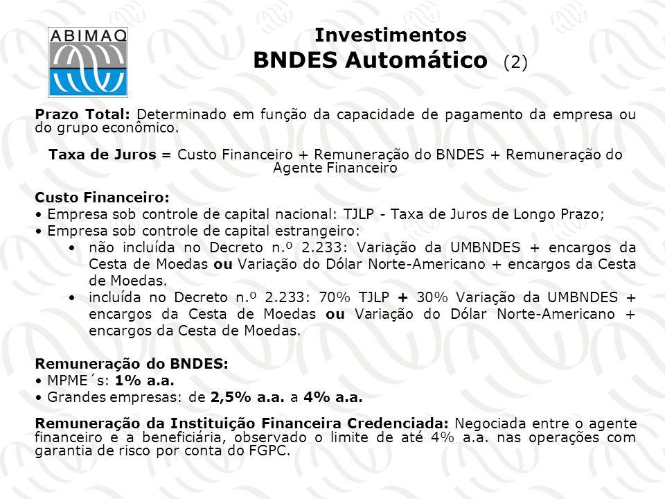 Investimentos BNDES Automático (2)