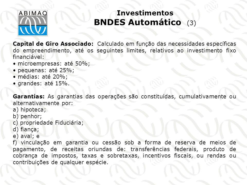Investimentos BNDES Automático (3)