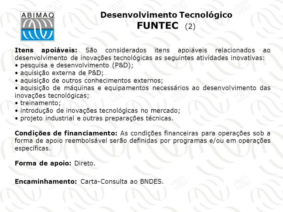 Desenvolvimento Tecnológico FUNTEC (2)