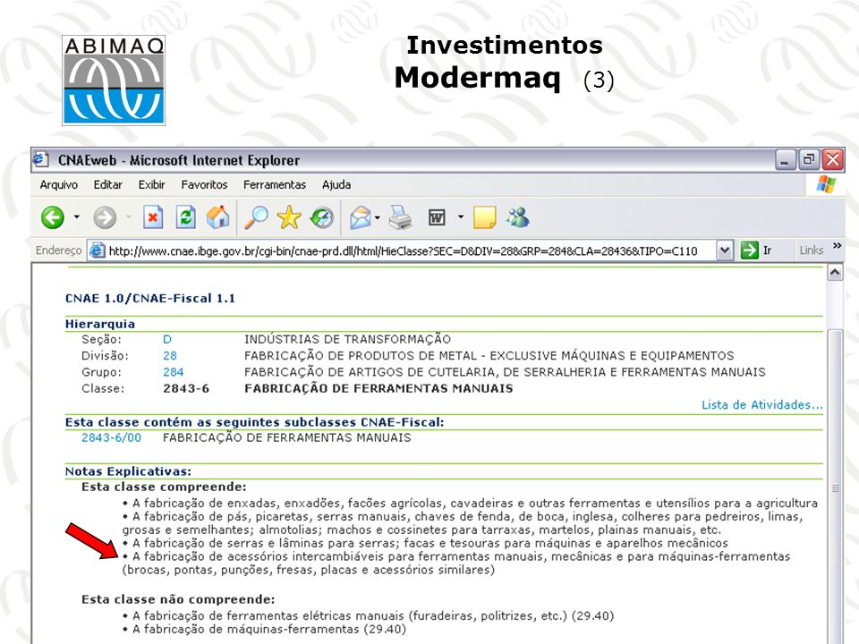 Investimentos Modermaq (3)