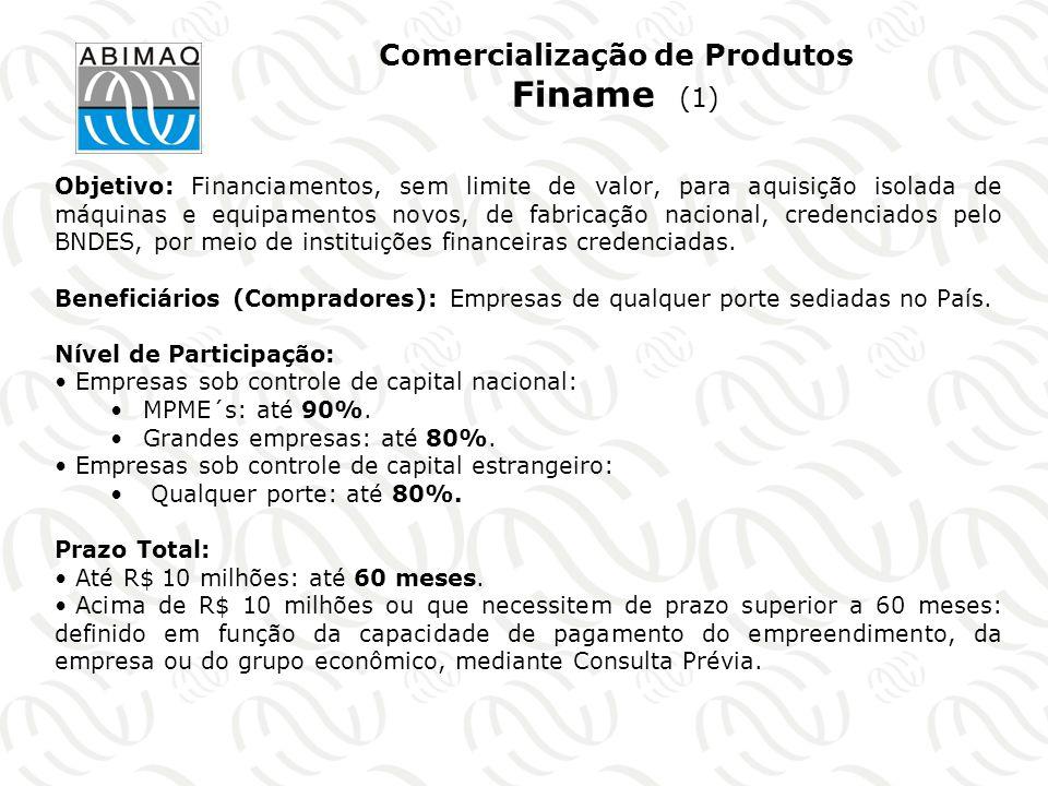 Comercialização de Produtos Finame (1)