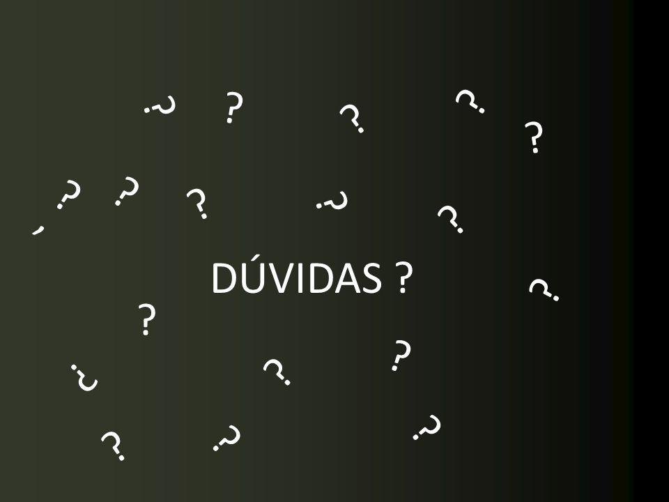 ' DÚVIDAS