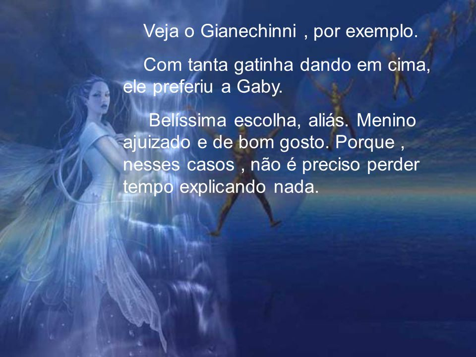 Veja o Gianechinni , por exemplo.