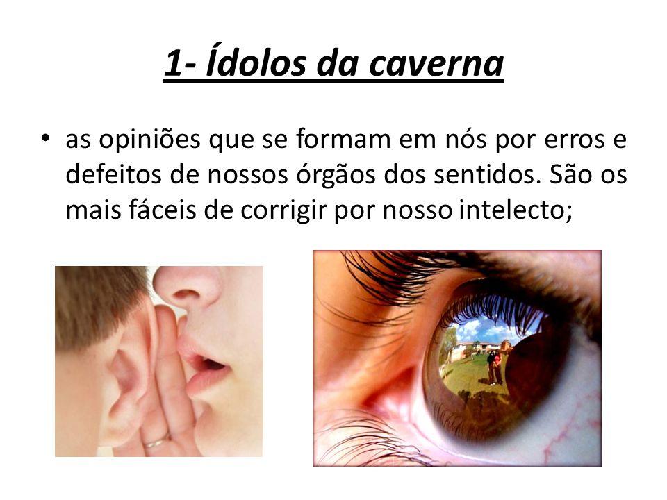 1- Ídolos da caverna