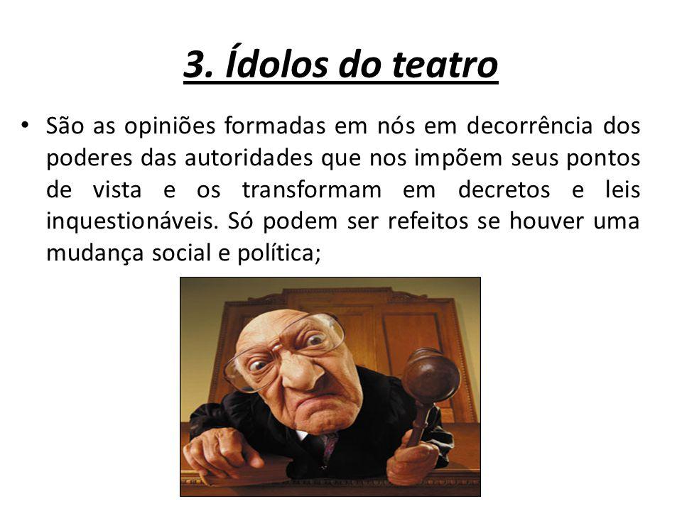 3. Ídolos do teatro