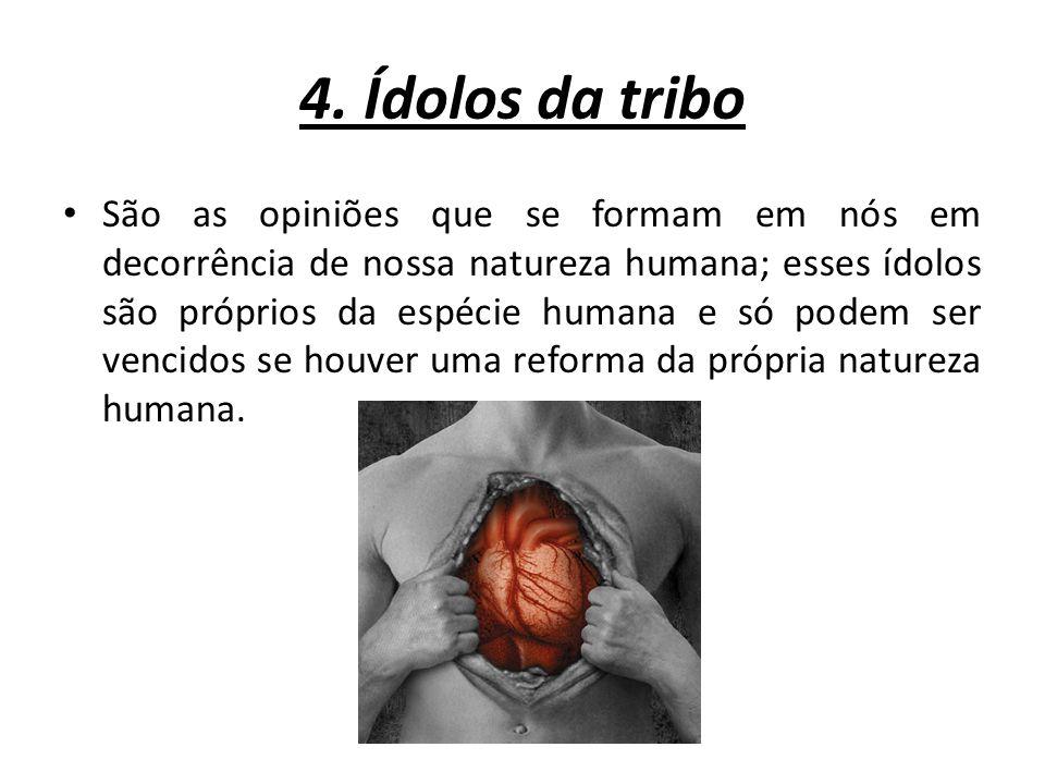 4. Ídolos da tribo