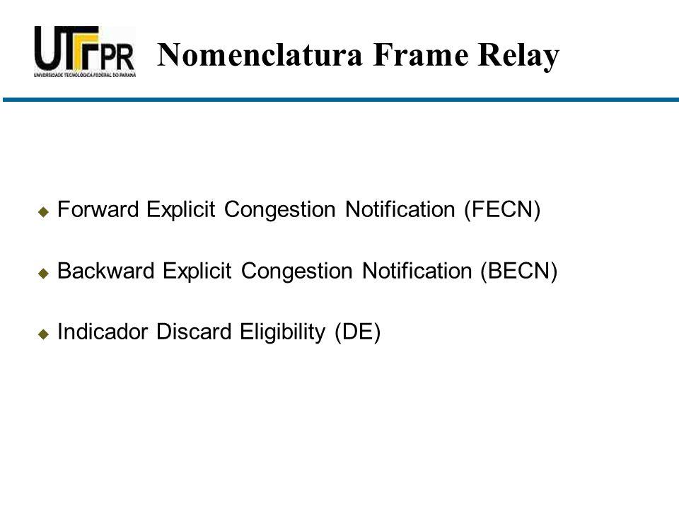 Nomenclatura Frame Relay