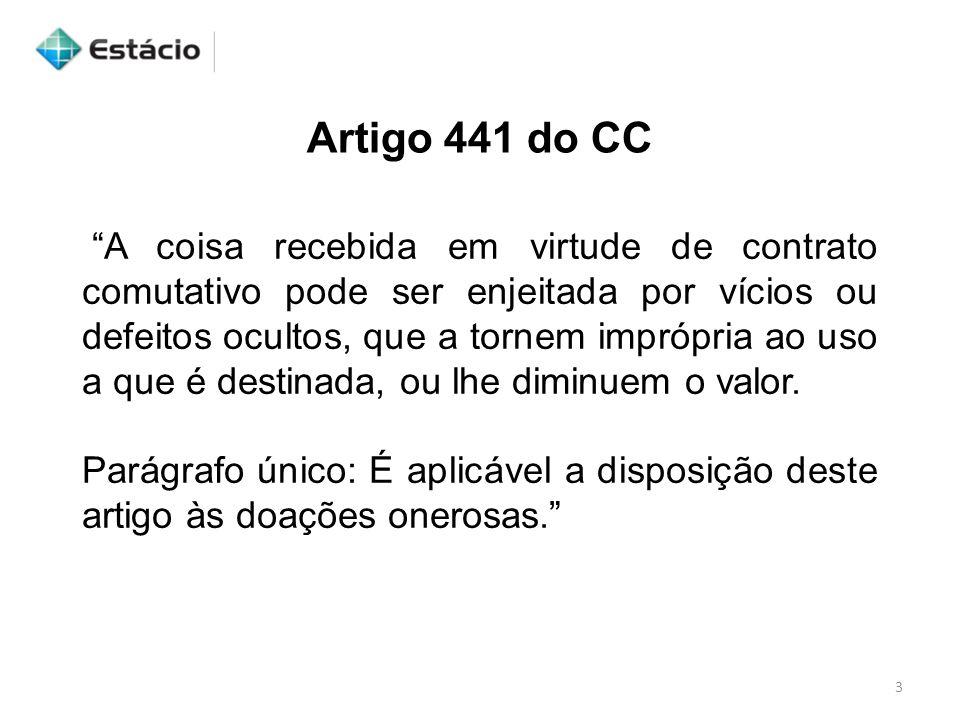 Artigo 441 do CC