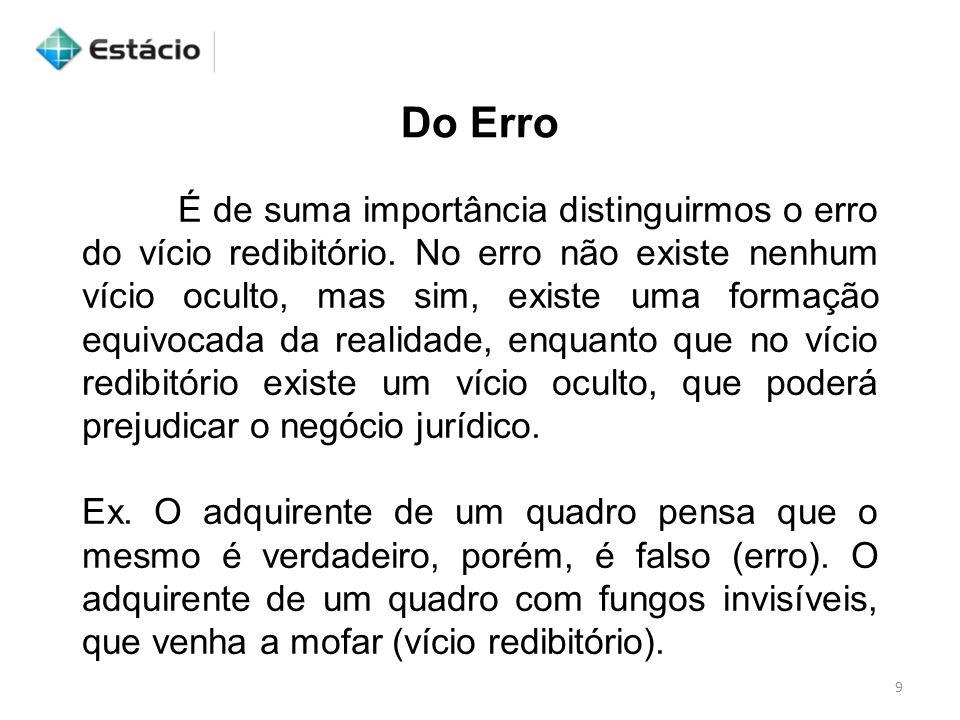 Do Erro