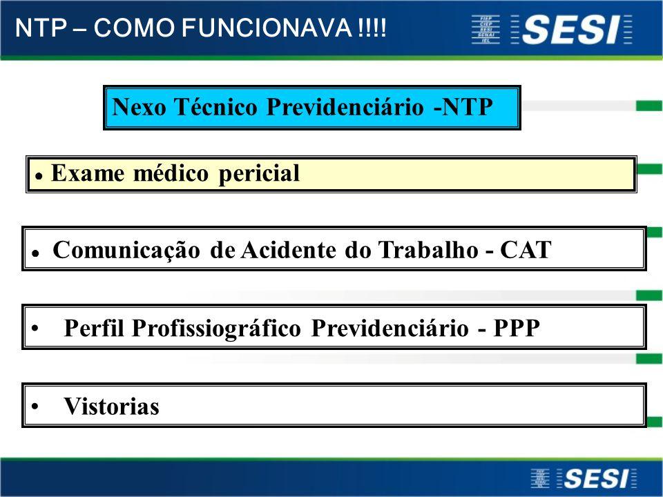 Nexo Técnico Previdenciário -NTP