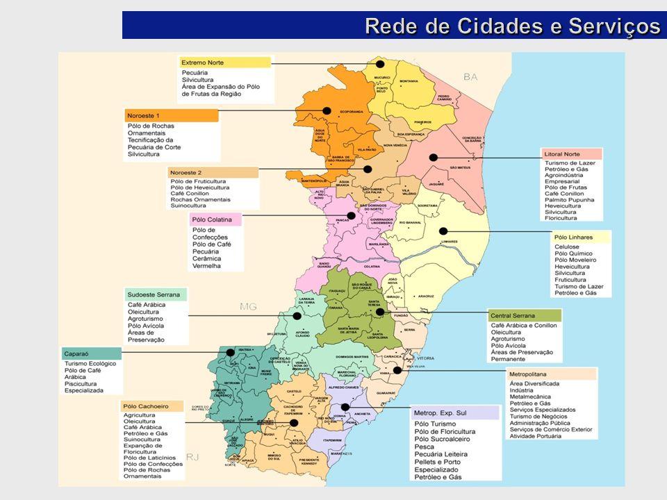 Rede de Cidades e Serviços
