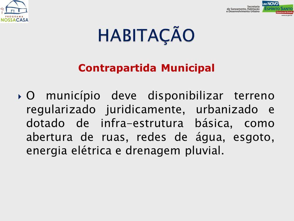 Contrapartida Municipal