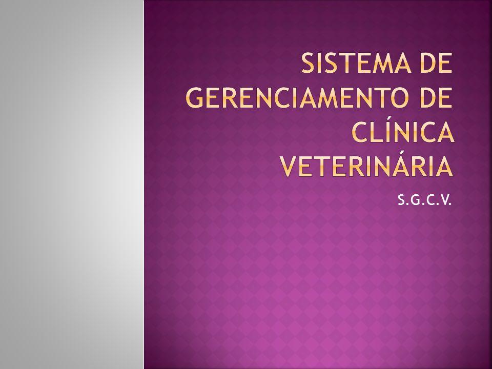 Sistema de gerenciamento de clínica veterinária