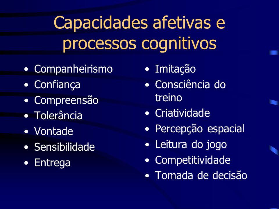 Capacidades afetivas e processos cognitivos