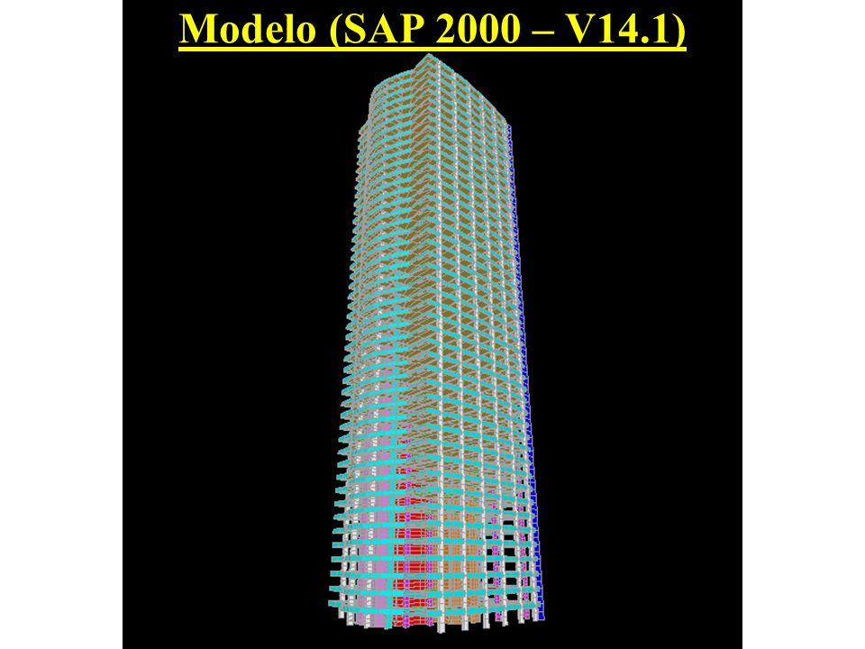 Modelo (SAP 2000 – V14.1)