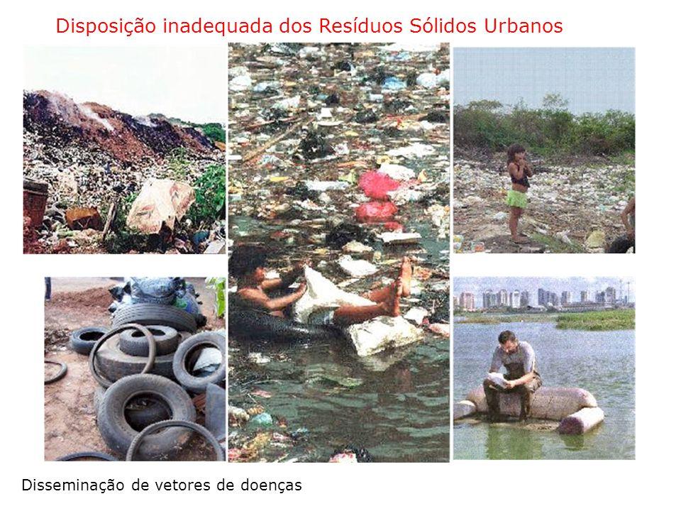 Disposição inadequada dos Resíduos Sólidos Urbanos