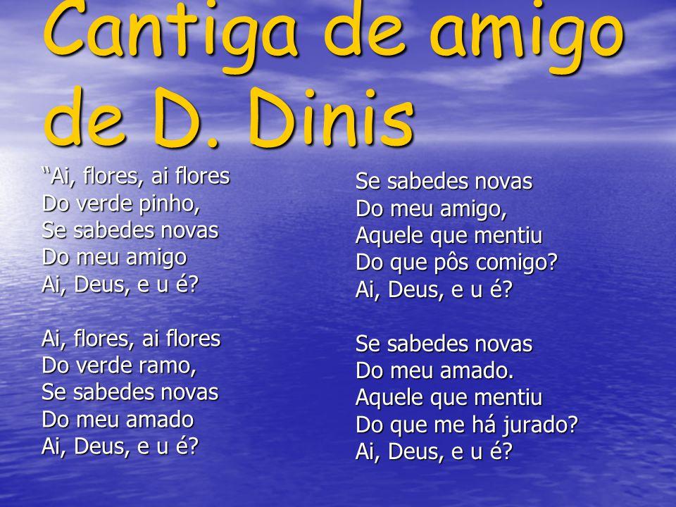 Cantiga de amigo de D. Dinis