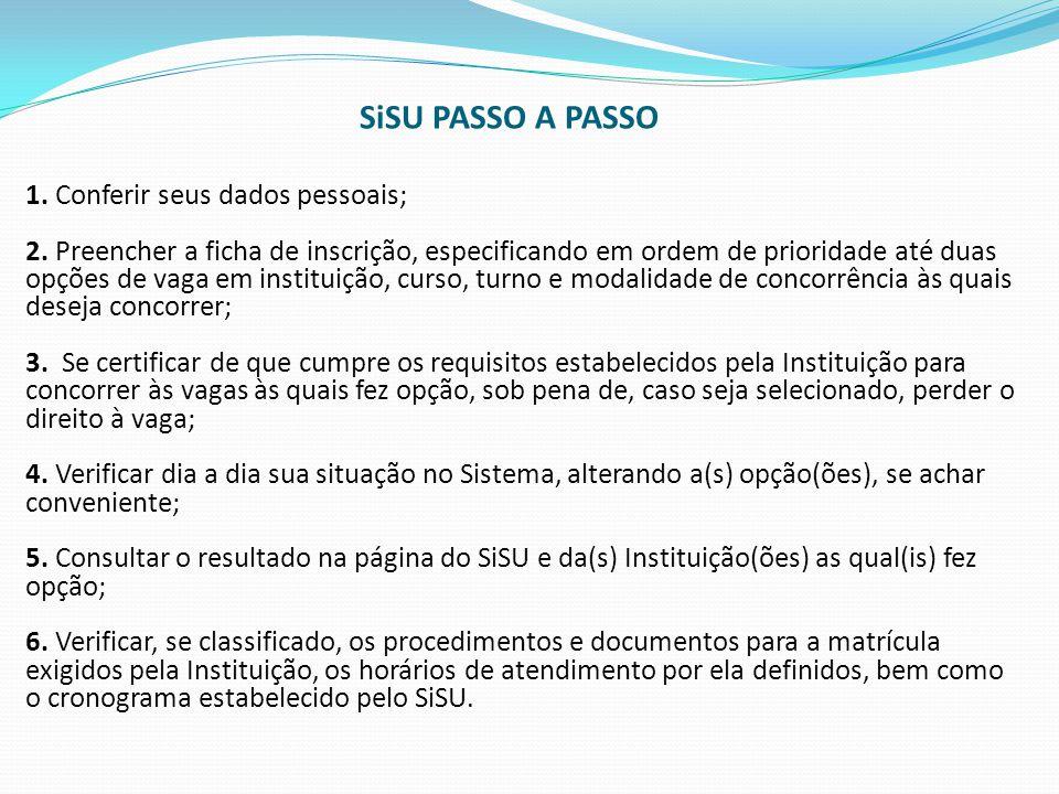 SiSU PASSO A PASSO