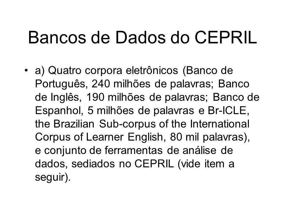 Bancos de Dados do CEPRIL