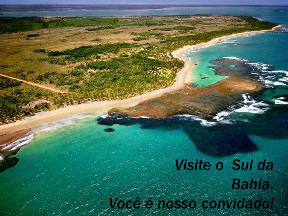 Visite o Sul da Bahia. Você é nosso convidado!