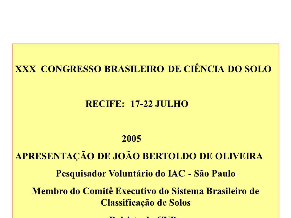 Pesquisador Voluntário do IAC - São Paulo