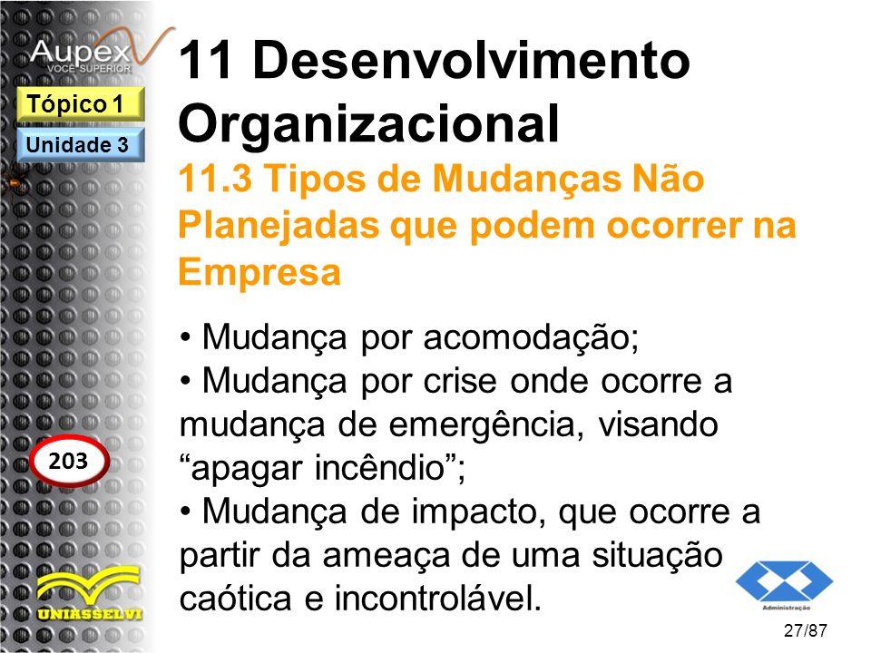 11 Desenvolvimento Organizacional 11