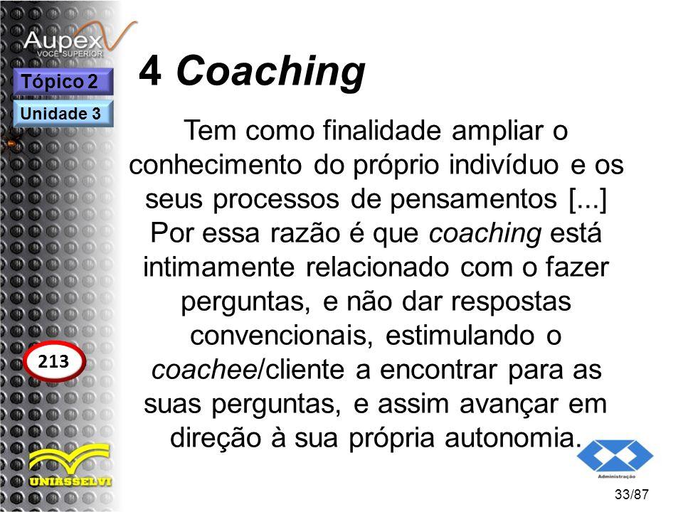 4 Coaching Tópico 2. Unidade 3.