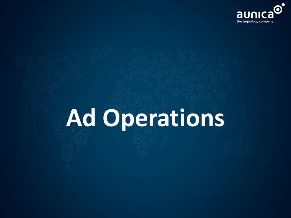 Ad Operations