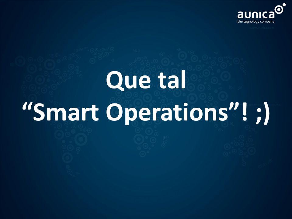 Que tal Smart Operations ! ;)