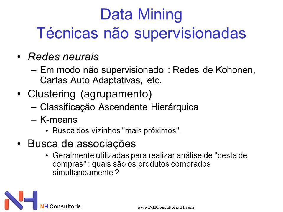 Data Mining Técnicas não supervisionadas