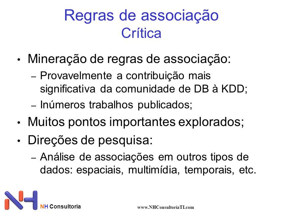 Regras de associação Crítica