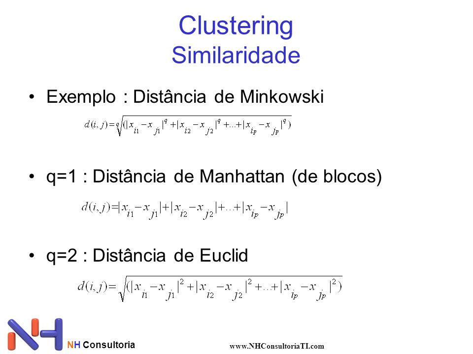 Clustering Similaridade