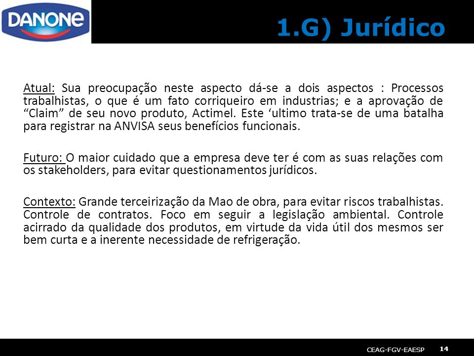 1.G) Jurídico