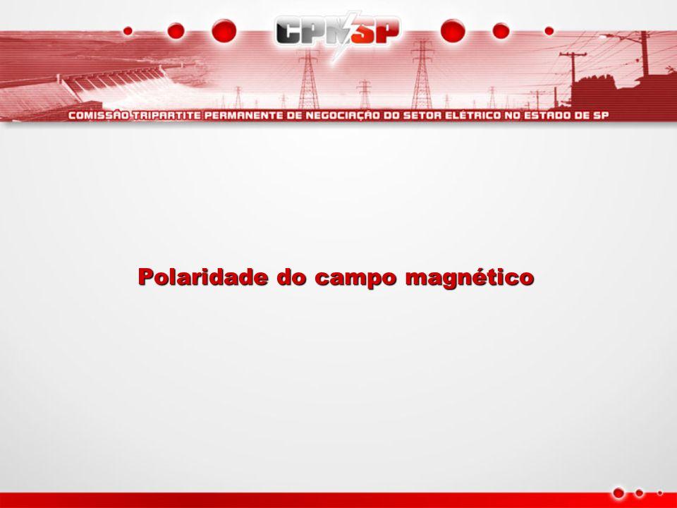 Polaridade do campo magnético