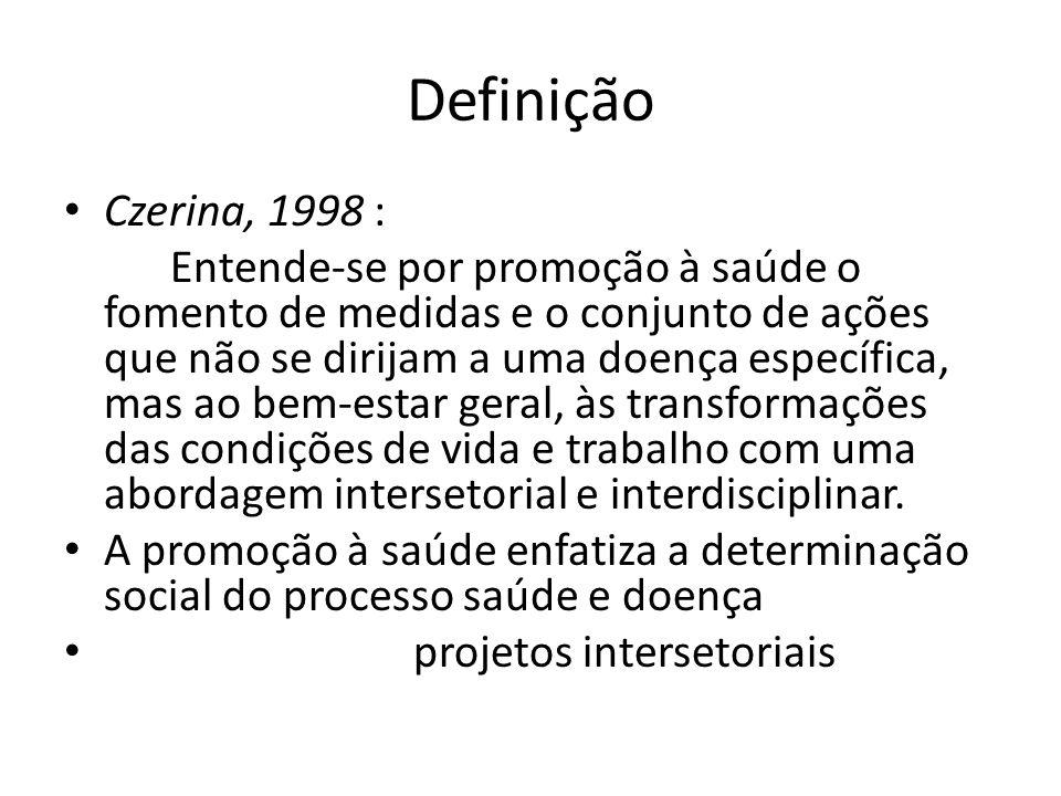 Definição Czerina, 1998 :