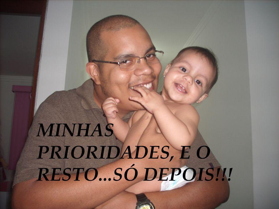MINHAS PRIORIDADES, E O RESTO...SÓ DEPOIS!!!