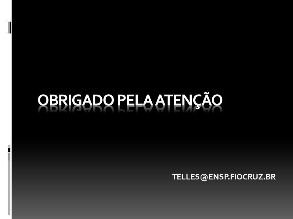 OBRIGADO PELA ATENÇÃO TELLES@ENSP.FIOCRUZ.BR