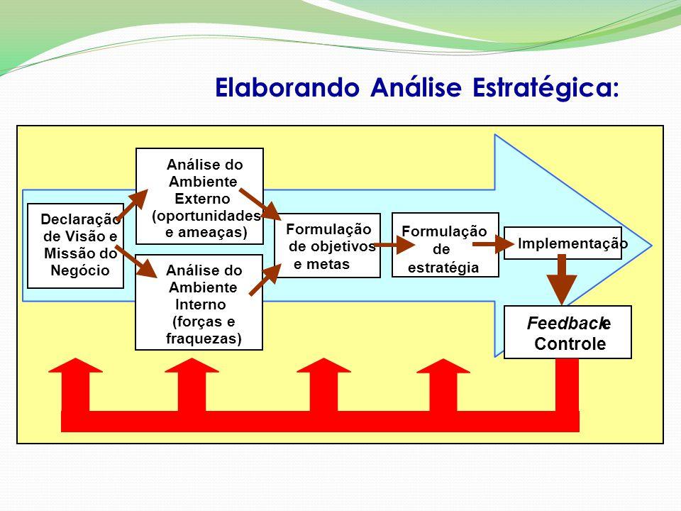 Elaborando Análise Estratégica: