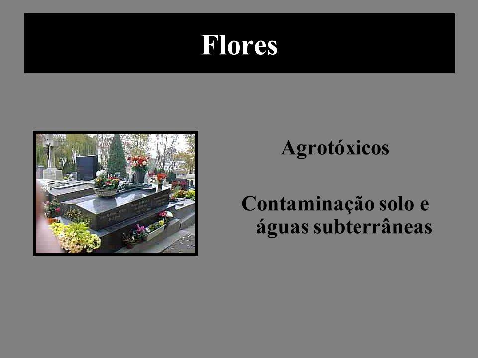 Contaminação solo e águas subterrâneas