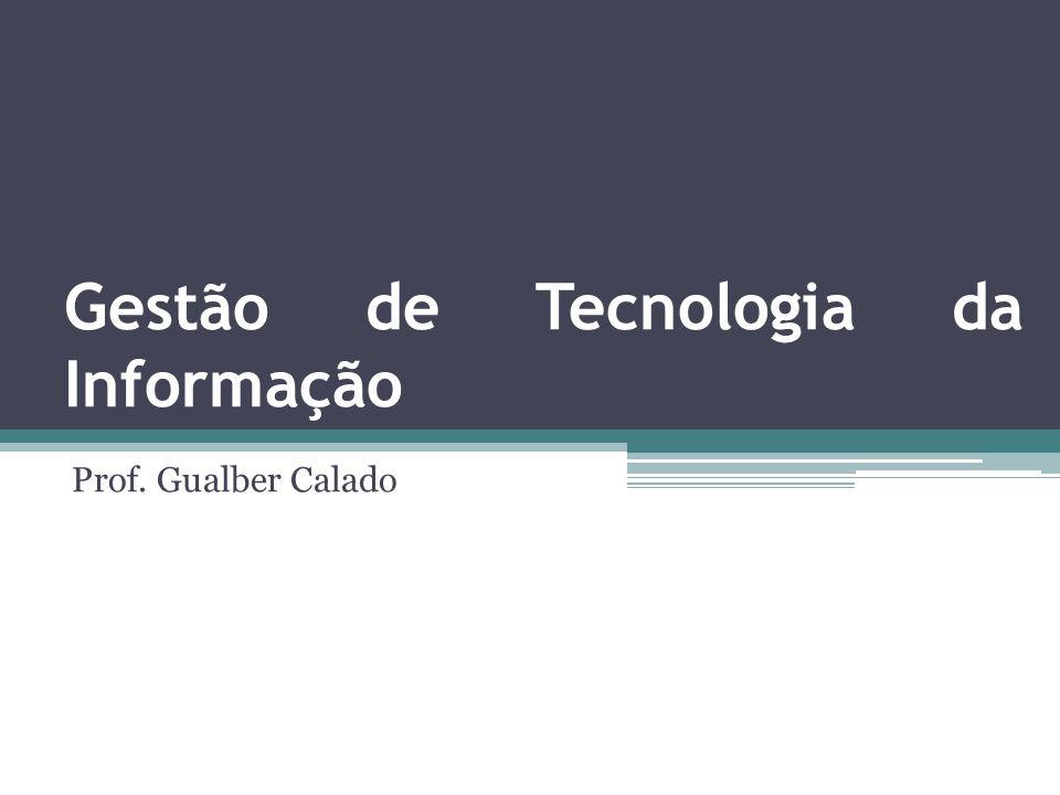 Gestão de Tecnologia da Informação