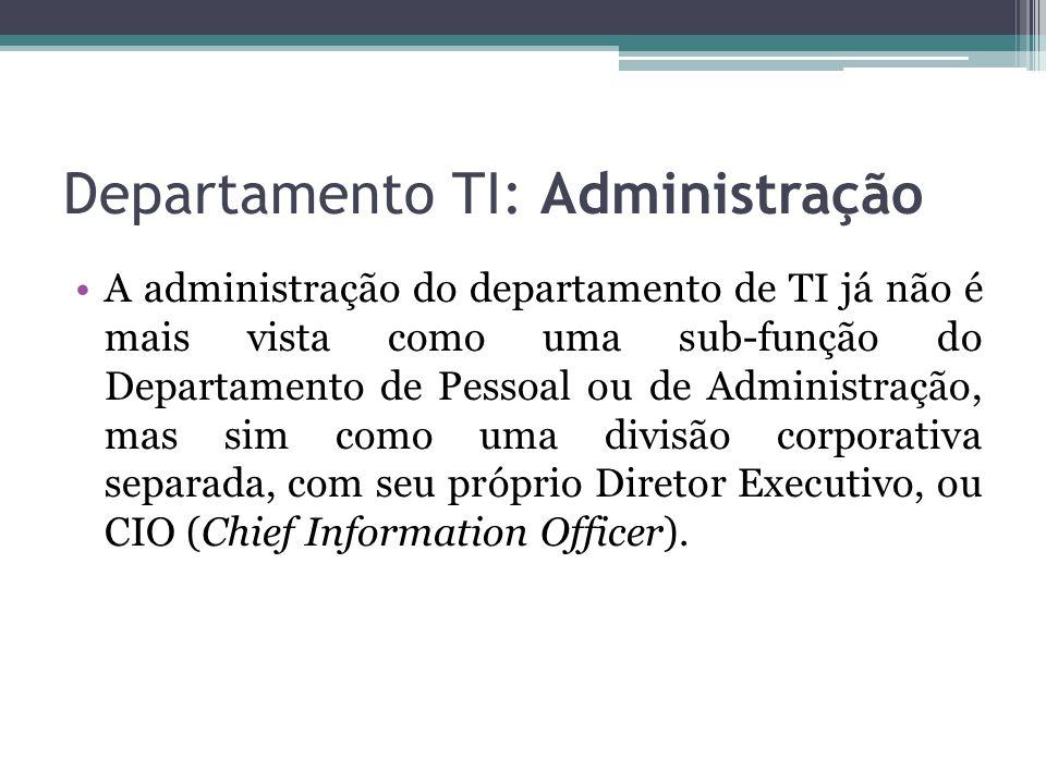 Departamento TI: Administração