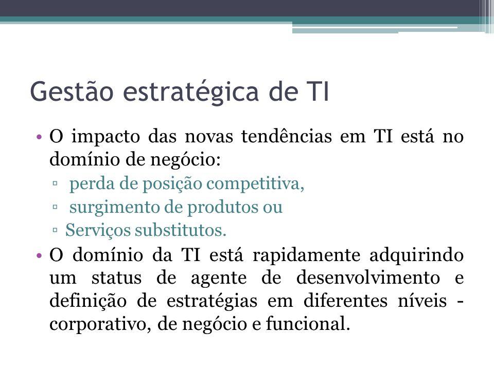 Gestão estratégica de TI