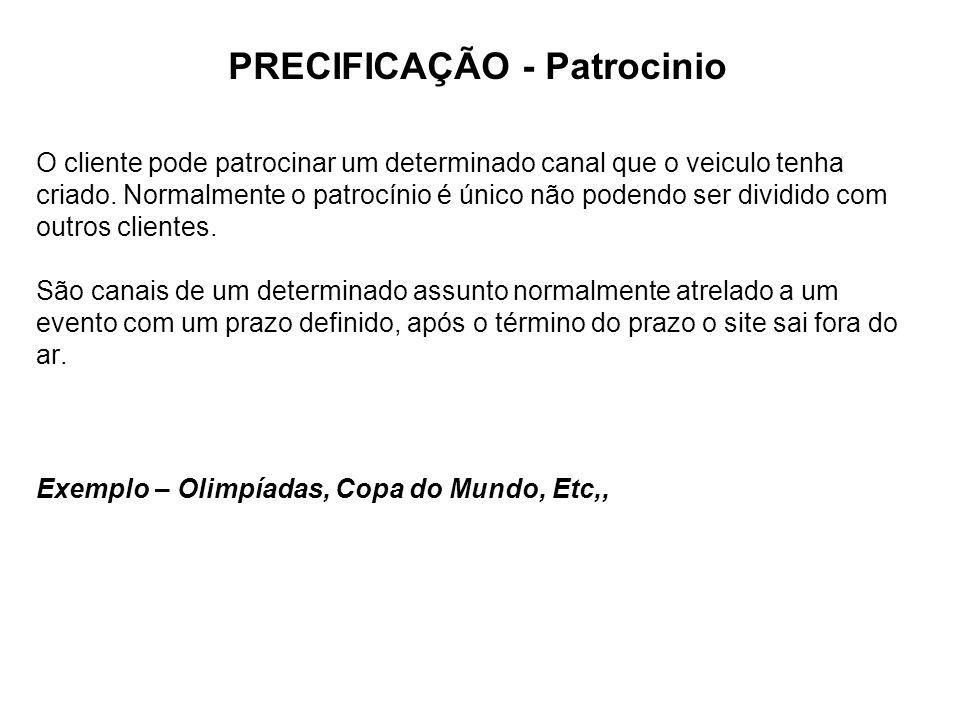PRECIFICAÇÃO - Patrocinio