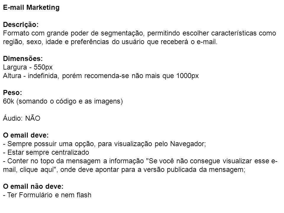 E-mail Marketing Descrição: