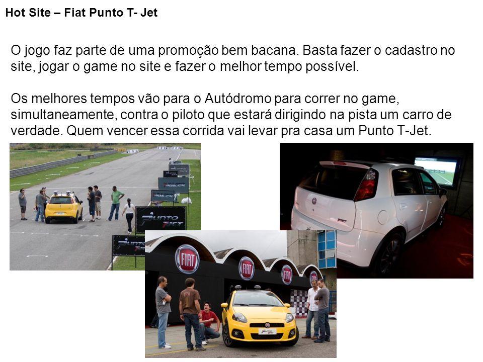 Hot Site – Fiat Punto T- Jet