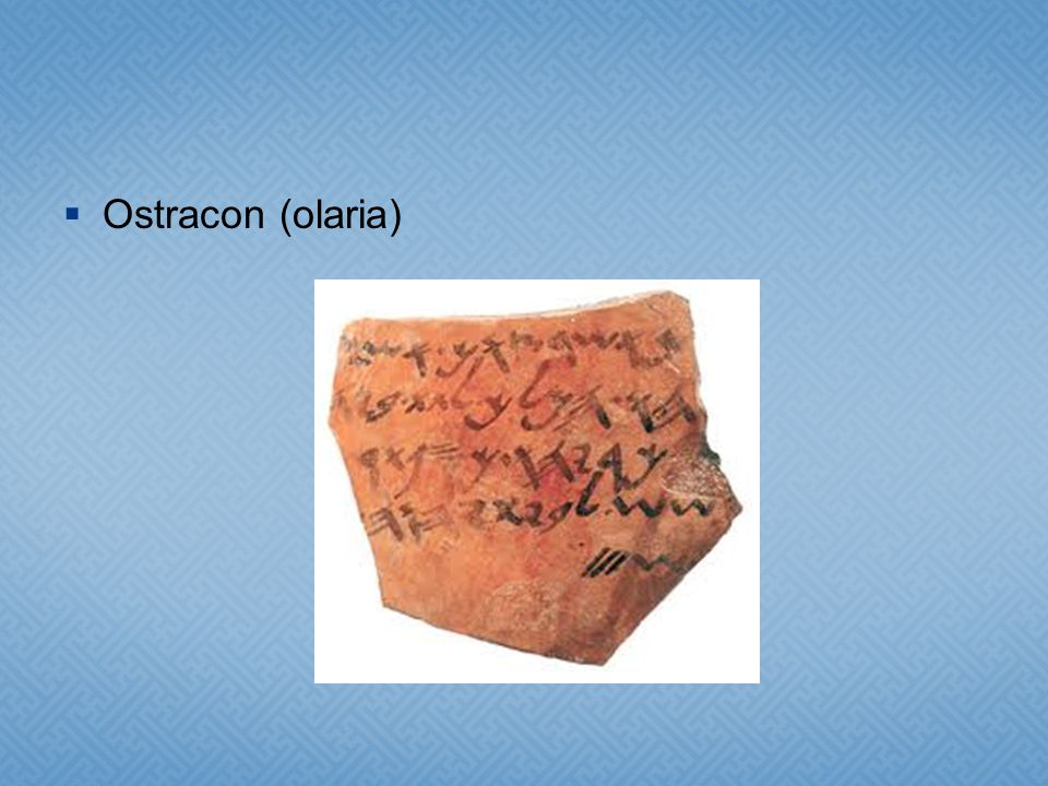 Ostracon (olaria)