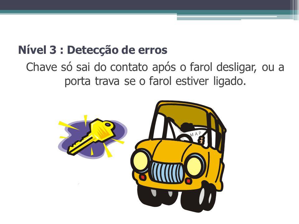Nível 3 : Detecção de erros